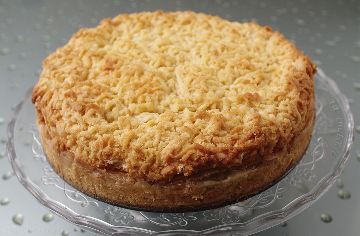 "Пирог с яблоками ""Мечта"""
