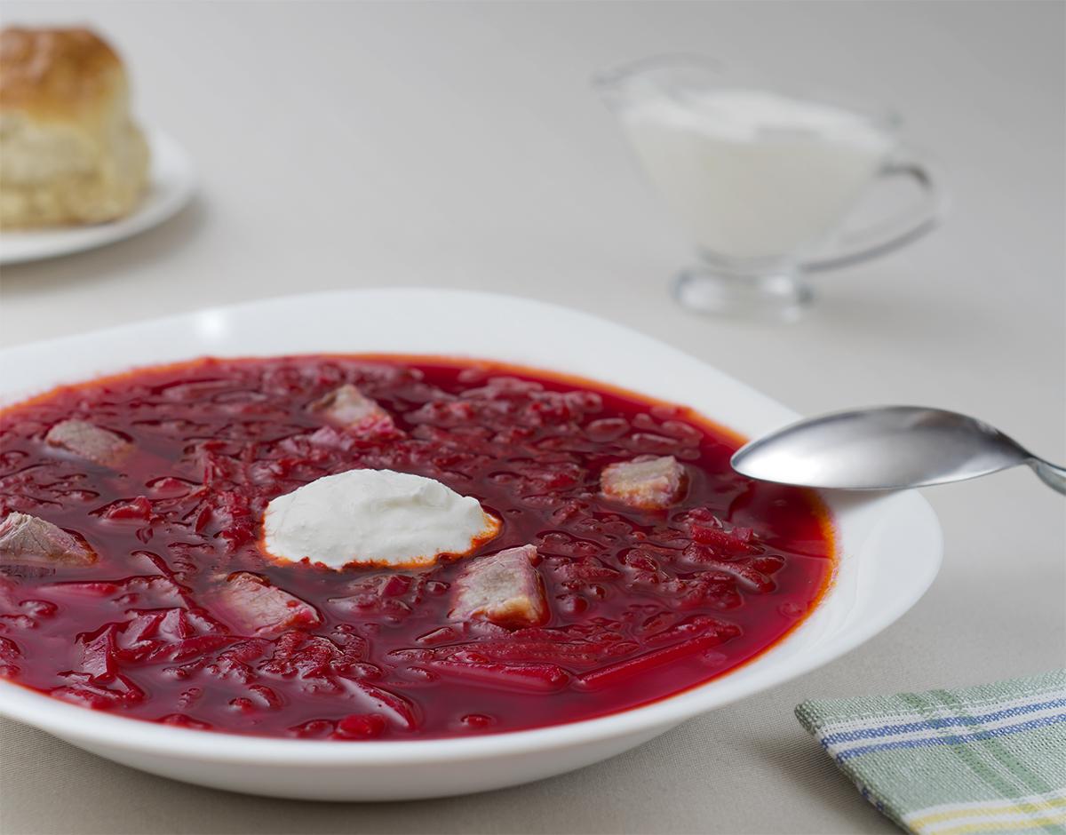 Суп свекольный рецепт пошагово
