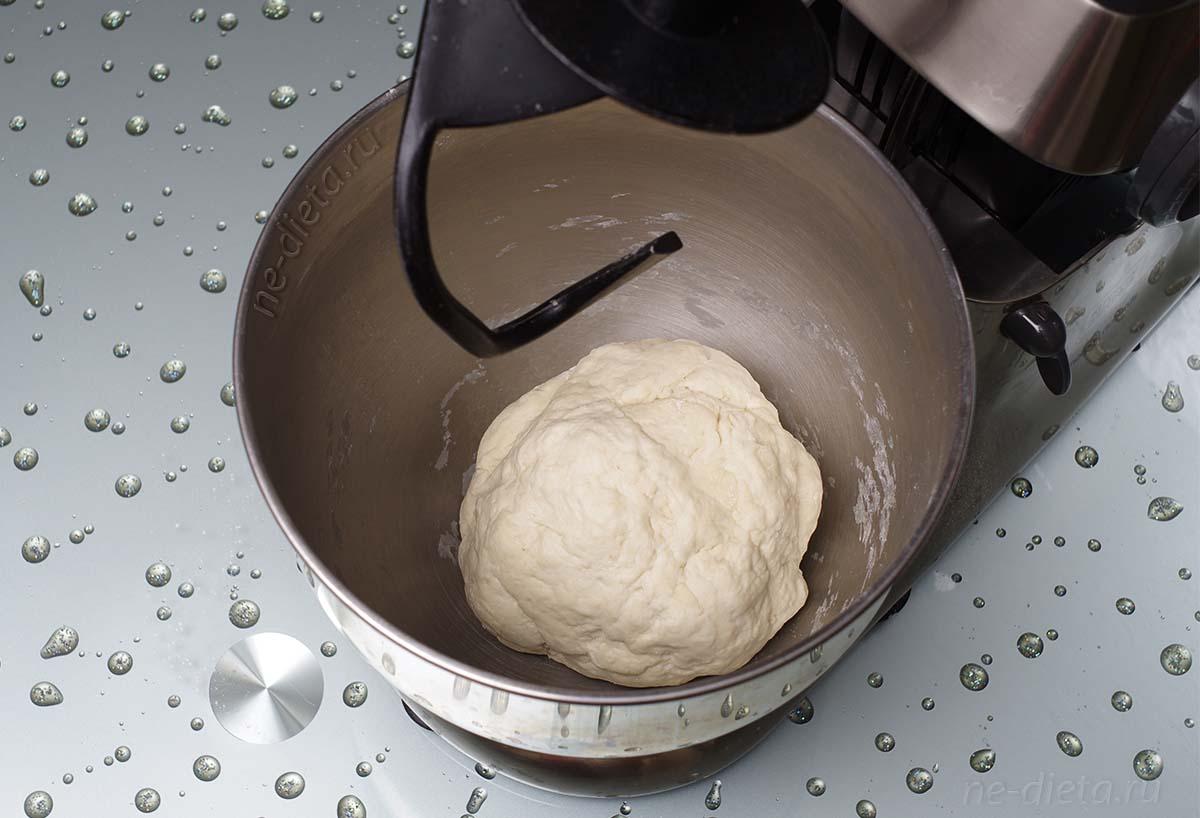 Тесто для вареников с творогом