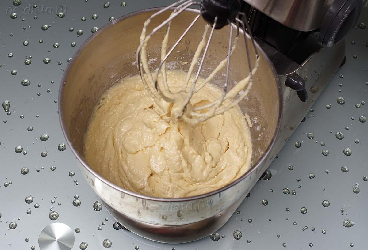 Творожное тесто для кекса