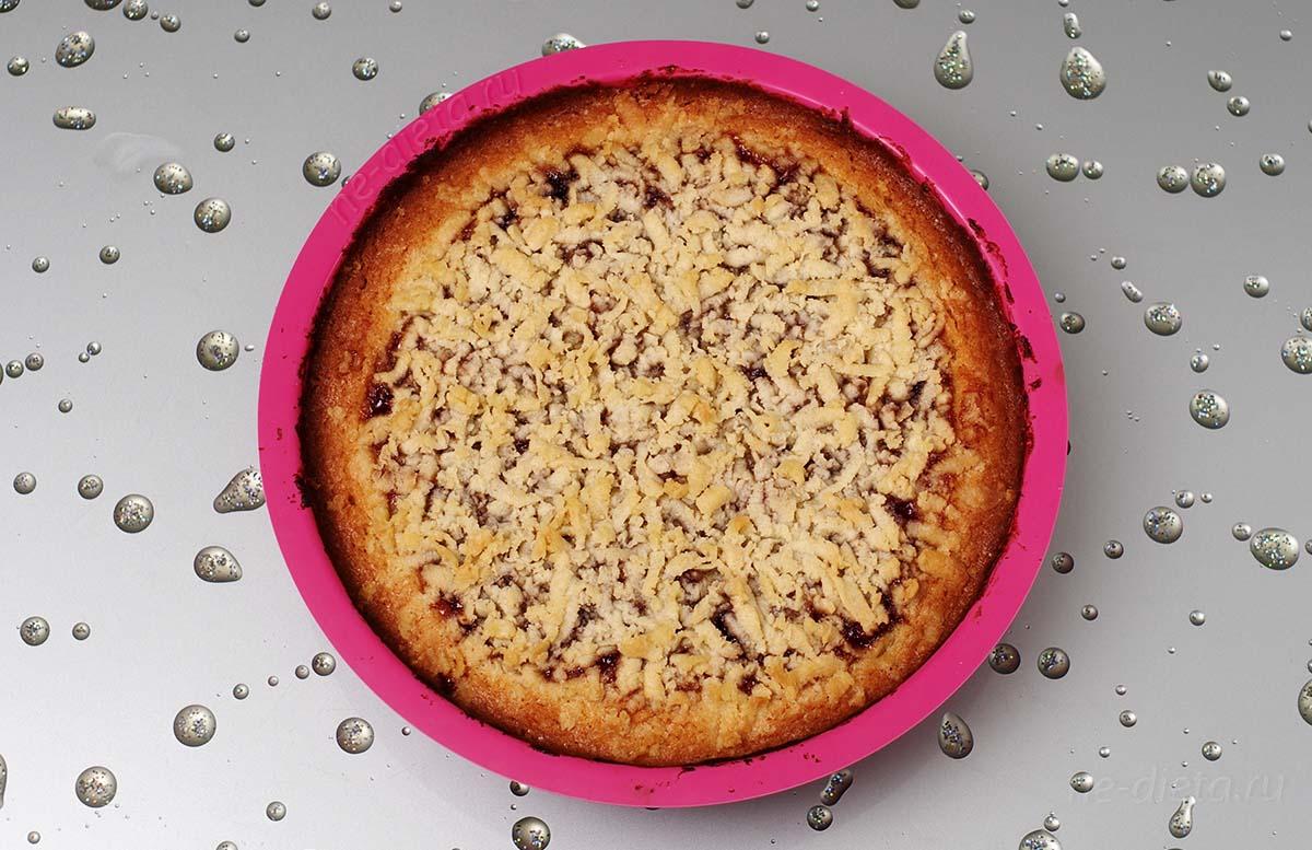 сливовый пирог пошаговый рецепт с фото