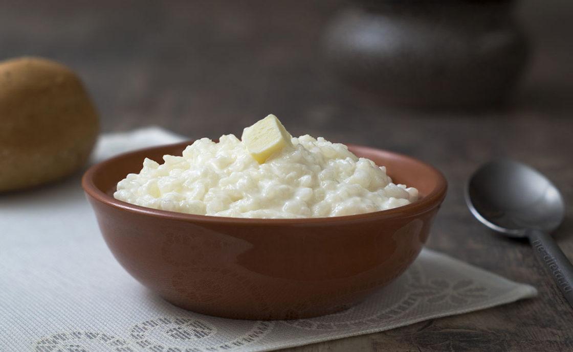 Рисовая каша на молоке
