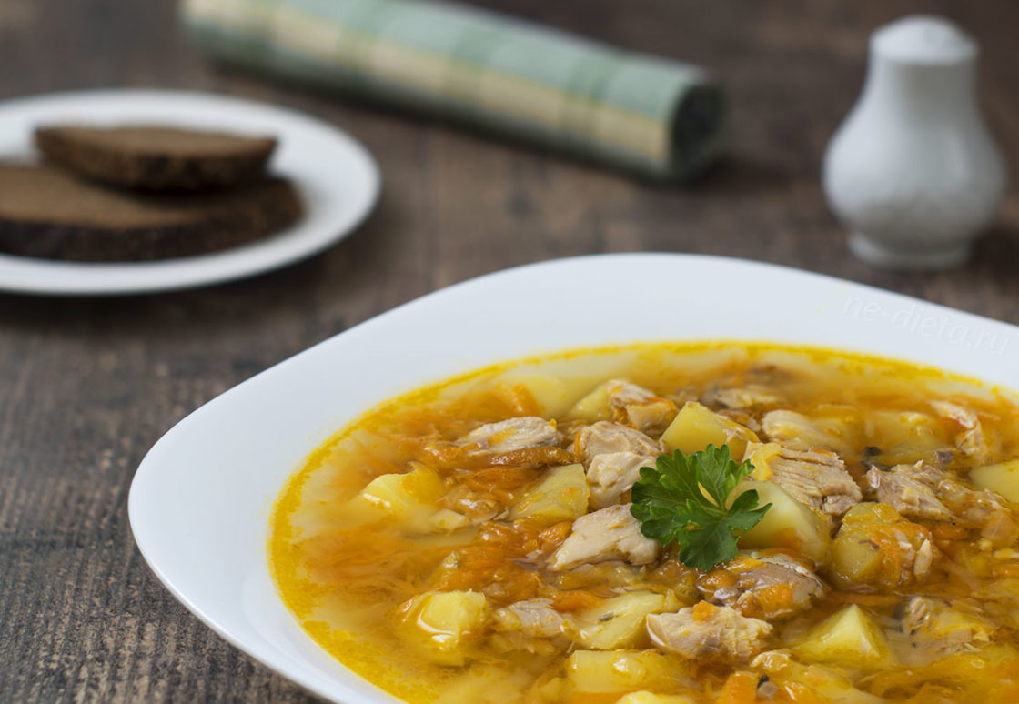 рыбный суп из нерки рецепт