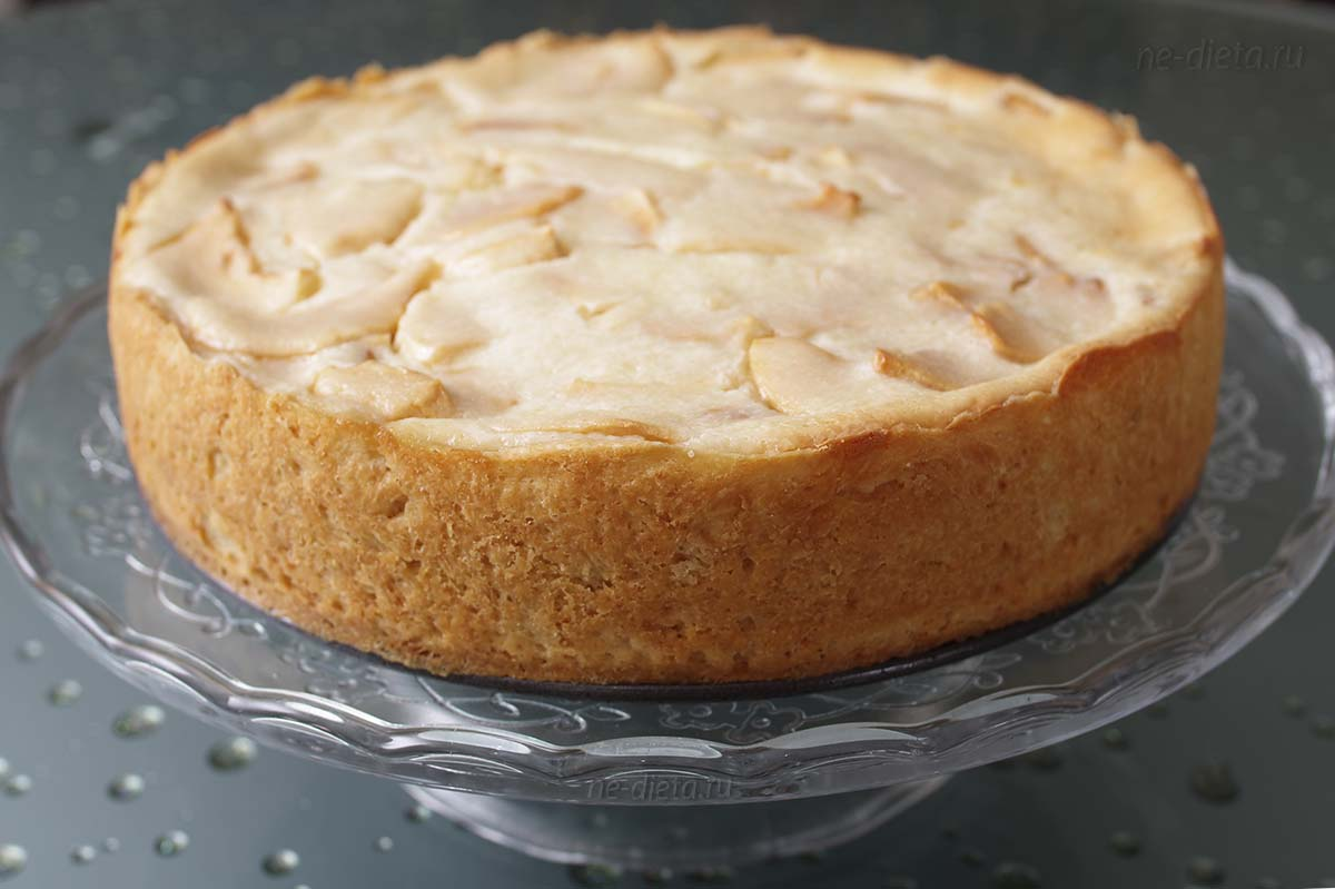 Классический цветаевский яблочный пирог
