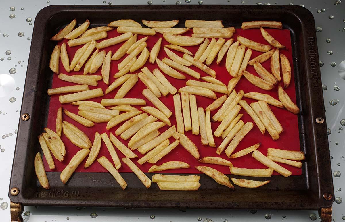 Картофель фри в духовке в домашних условиях
