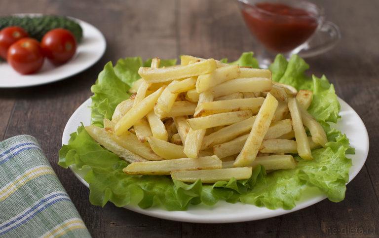 Картофель-фри в духовке