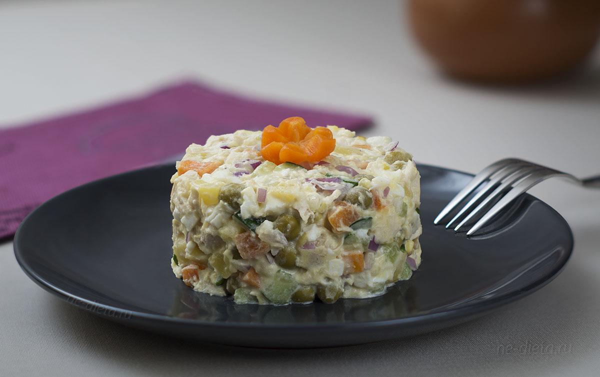 Открытки салат оливье, куинджи