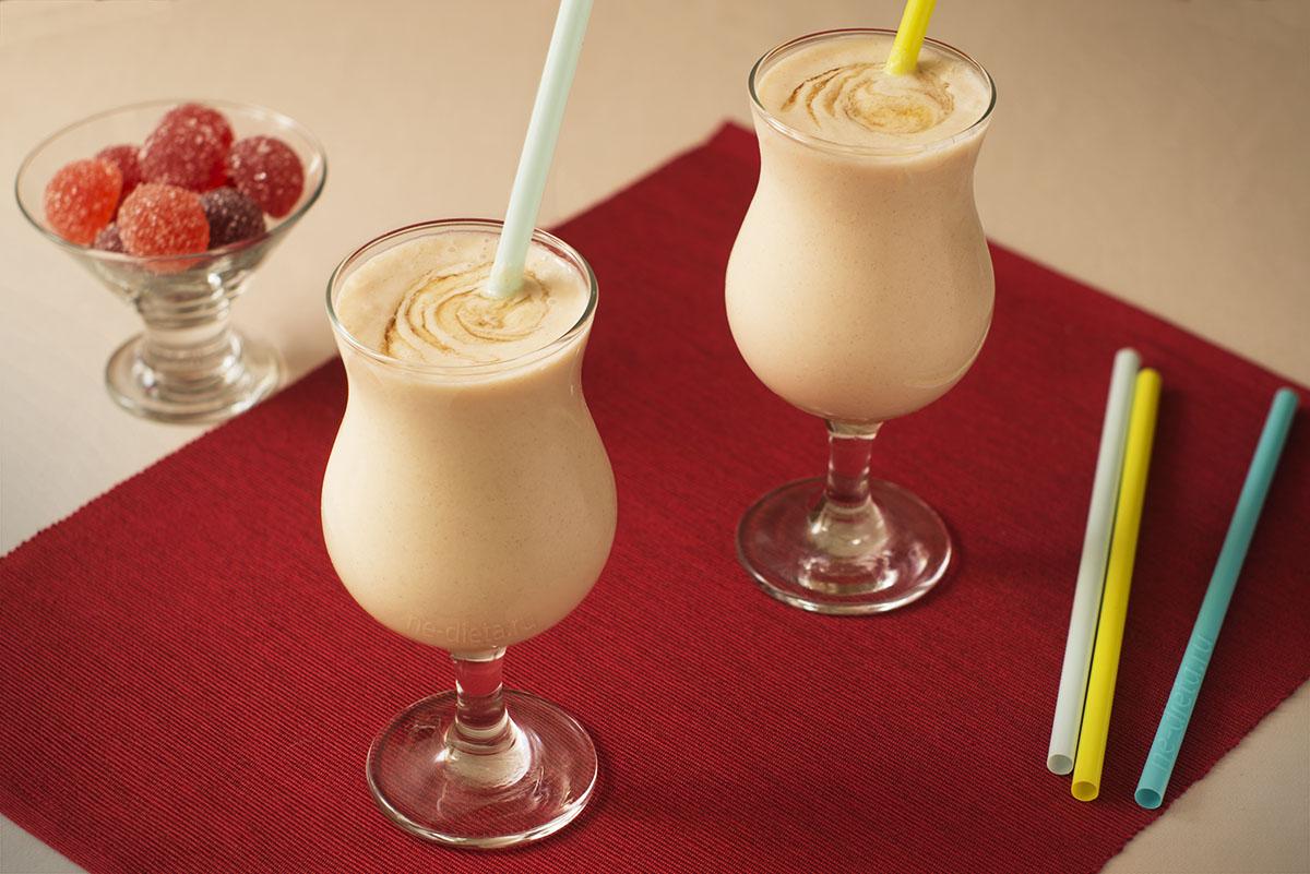 Молочный коктейль с яблоком