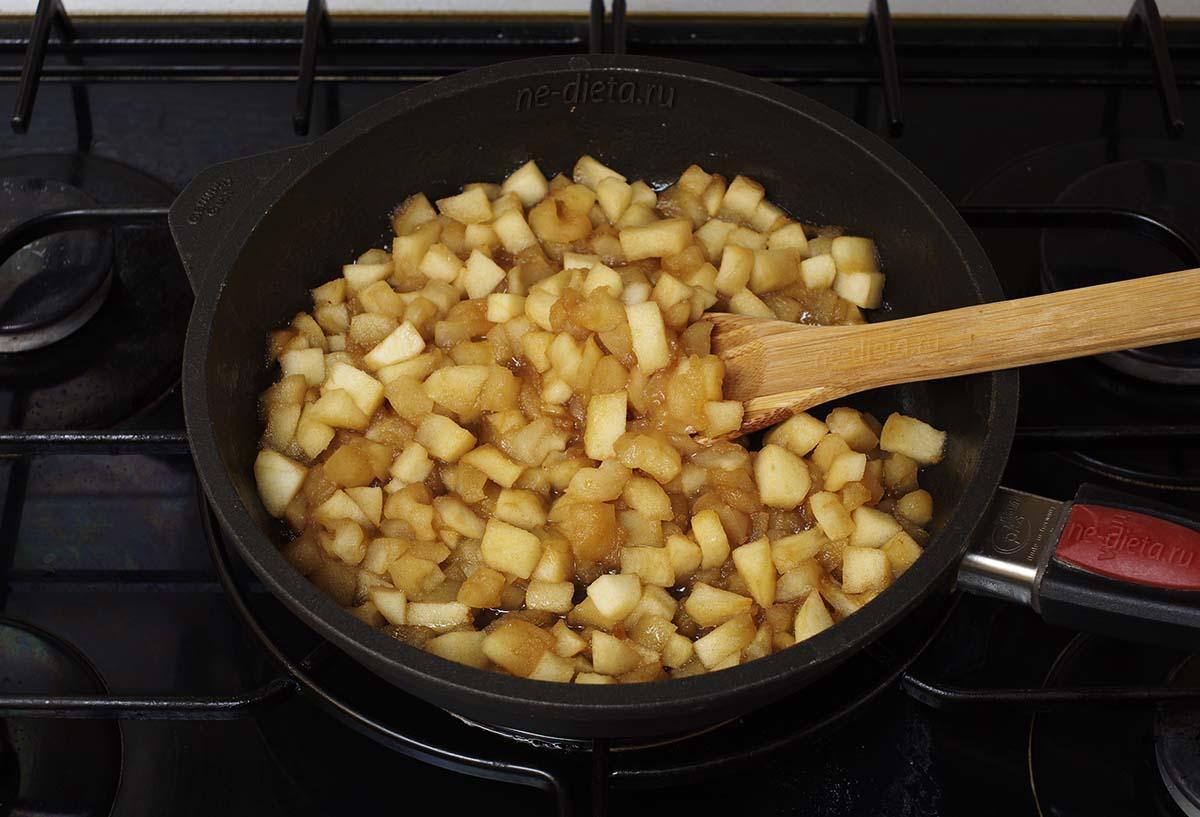 Яблочная начинка для блинчиков