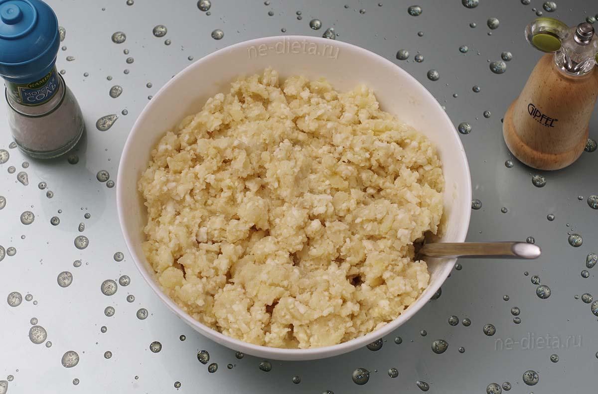 Картофельная масса для зраз