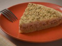 Открытый пирог с рыбой