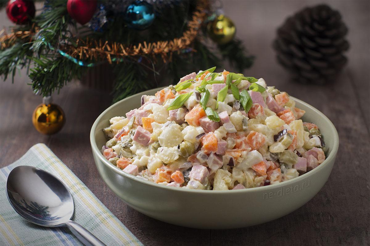 новогодние салаты рецепты с картинками чаем