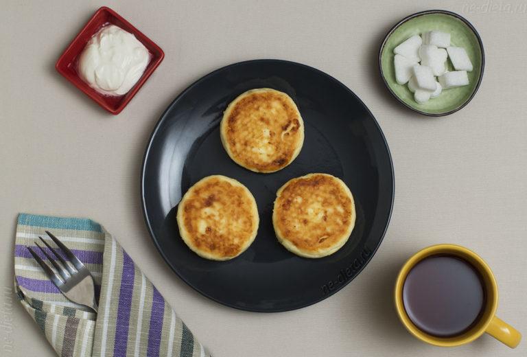 Самые вкусные сырники — рецепт с творожным сыром