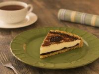 Творожный тарт с шоколадом