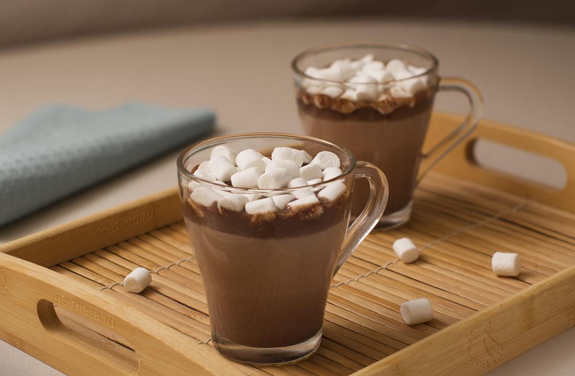 Как сделать горячий шоколад в домашних