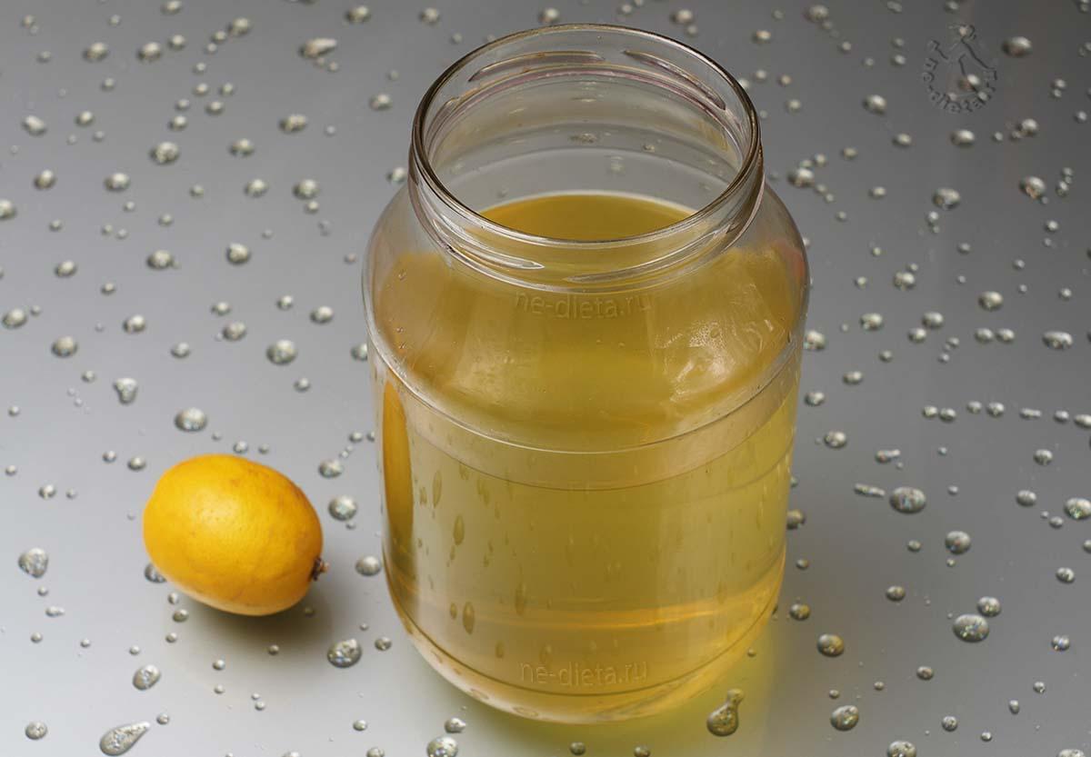 Добавить к водке сахарный сироп