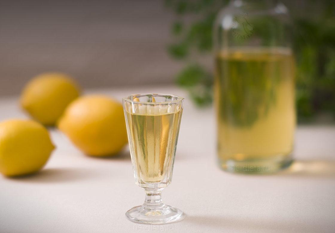 лимончелло рецепт на водке сок лимона