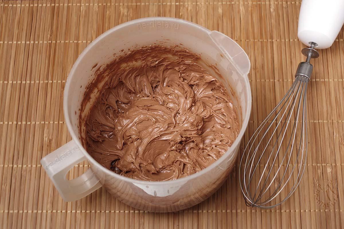 Шоколадный крем для капкейков