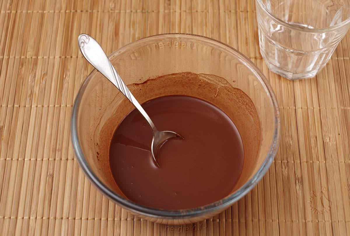 Какао растворить в кипятке