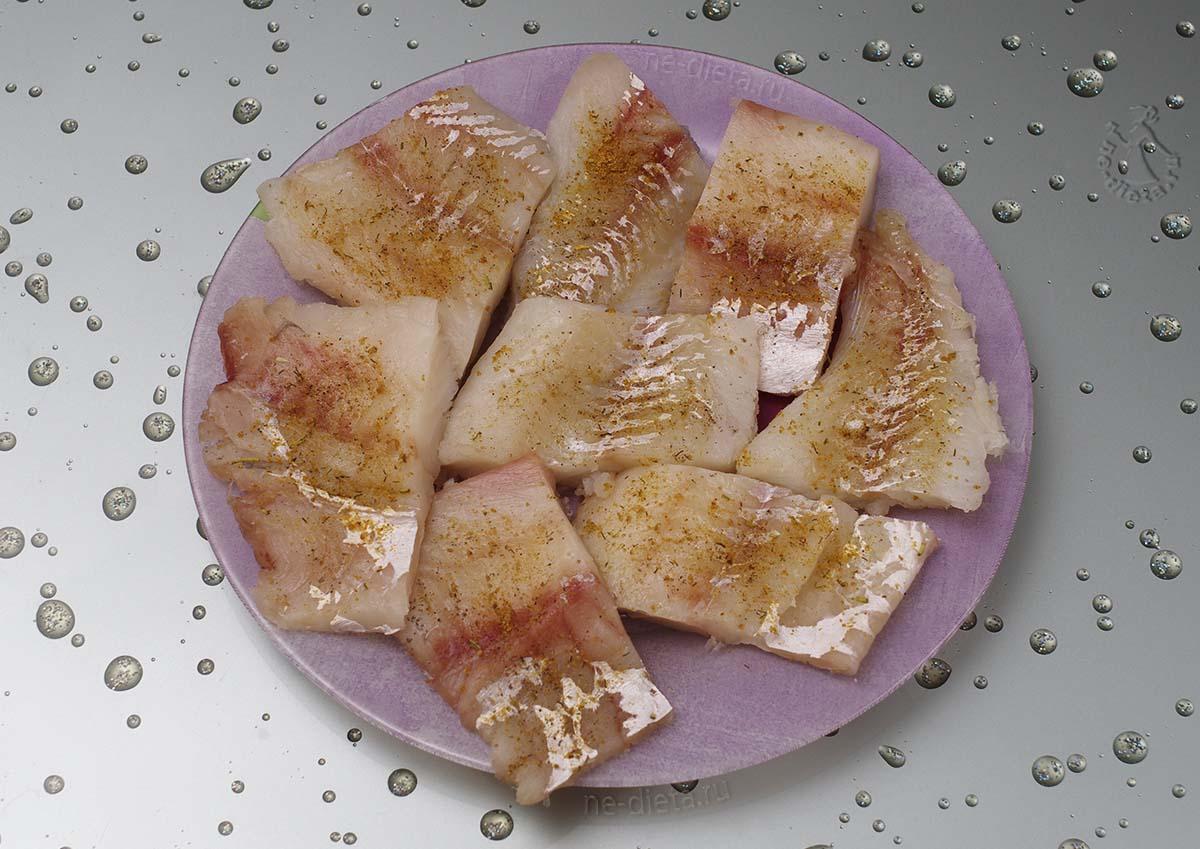 Подготовить рыбное филе