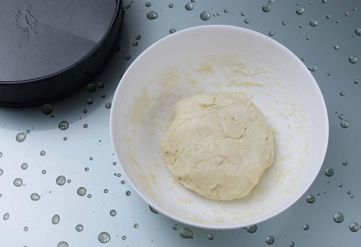 Тесто для пирога с черникой