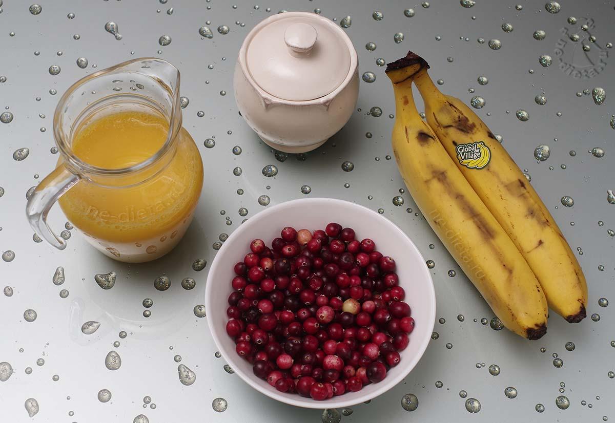 Ингредиенты для смузи