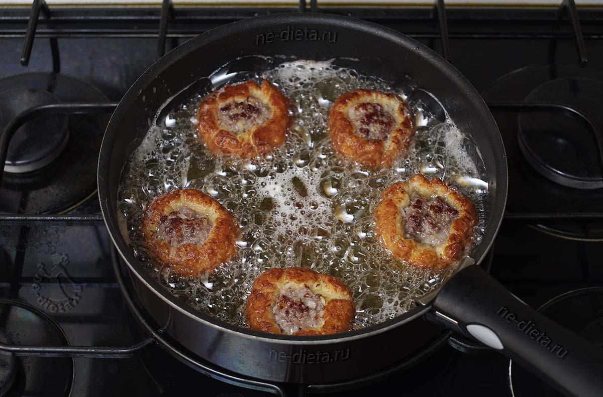 Жареные татарские пирожки