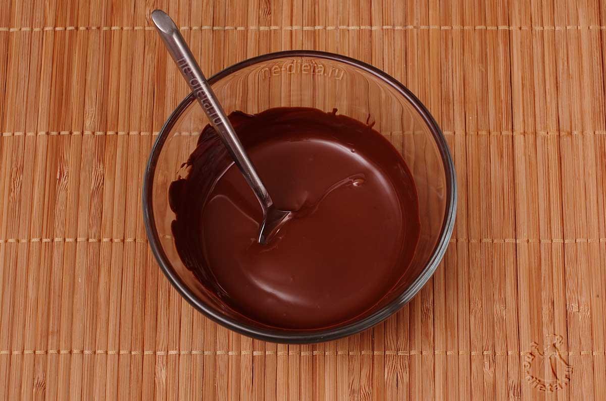 Шоколад растопить