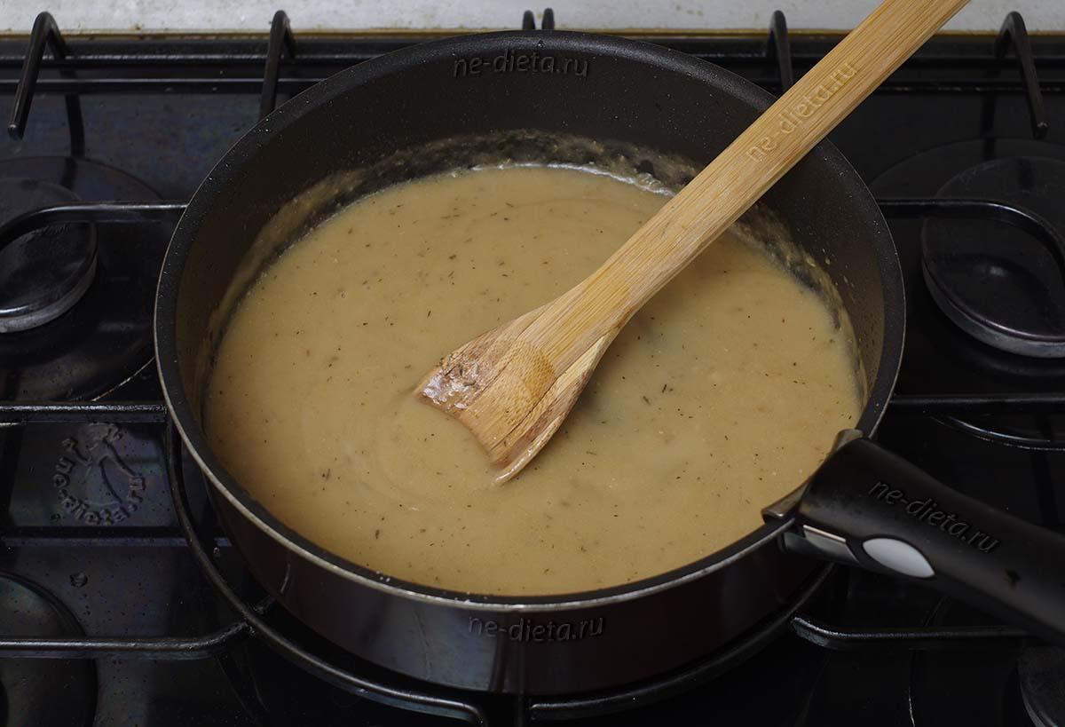 Соус для жареных стейков из семги