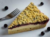 Тертый пирог с вареньем и творогом