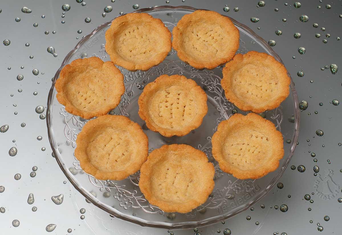 Песочные корзиночки для пирожных