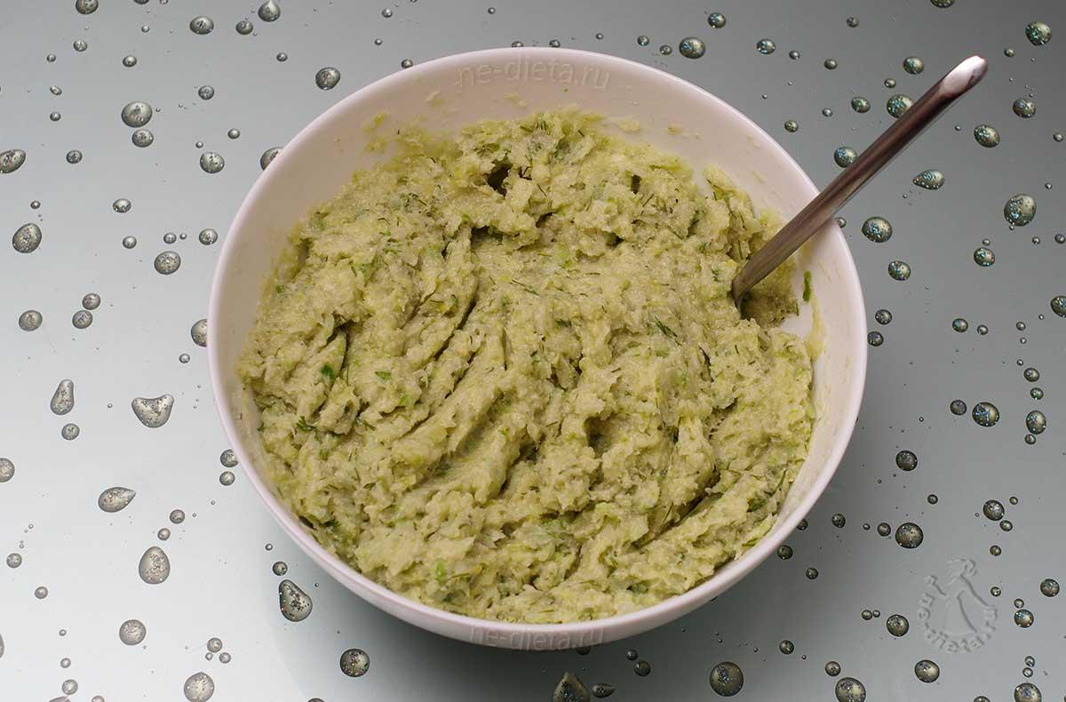 Овощная смесь для капустных котлет