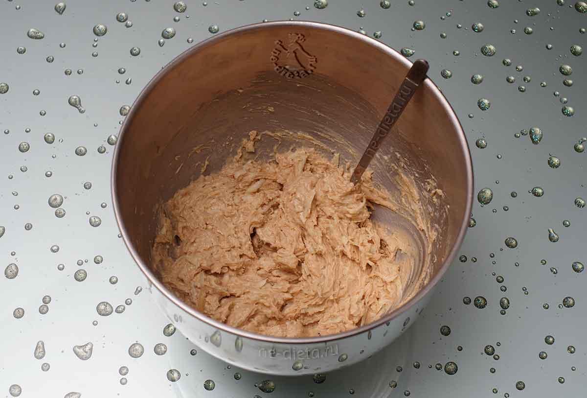 Тесто для яблочного печенья