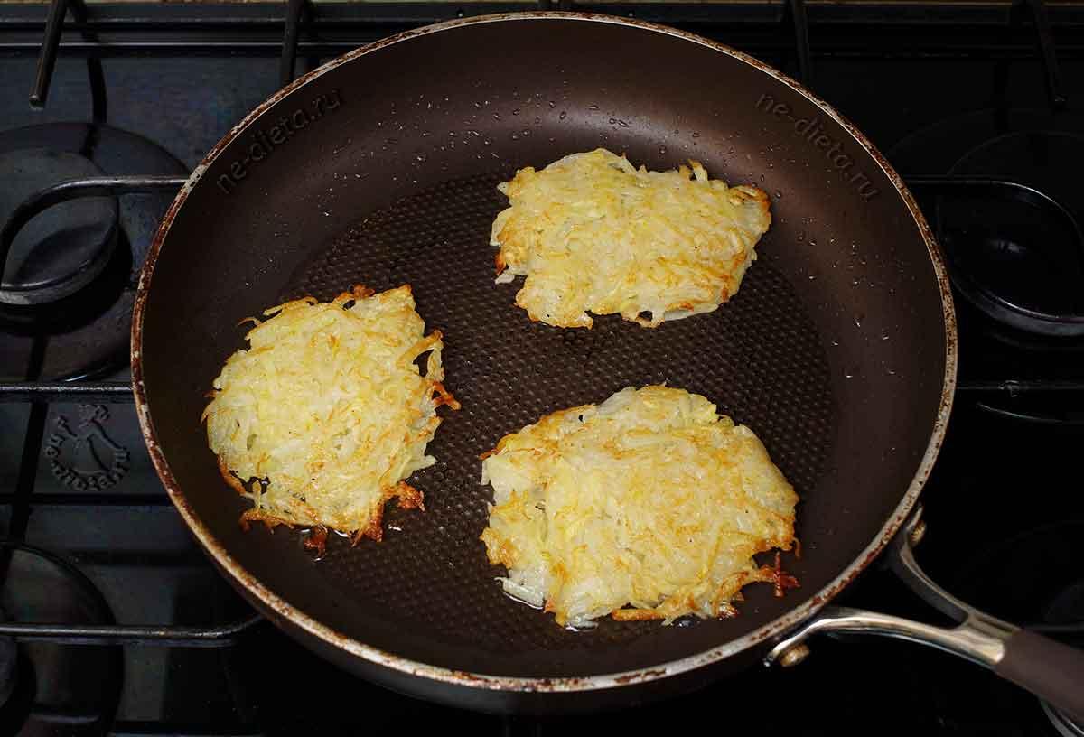 Самые простые драники из картошки