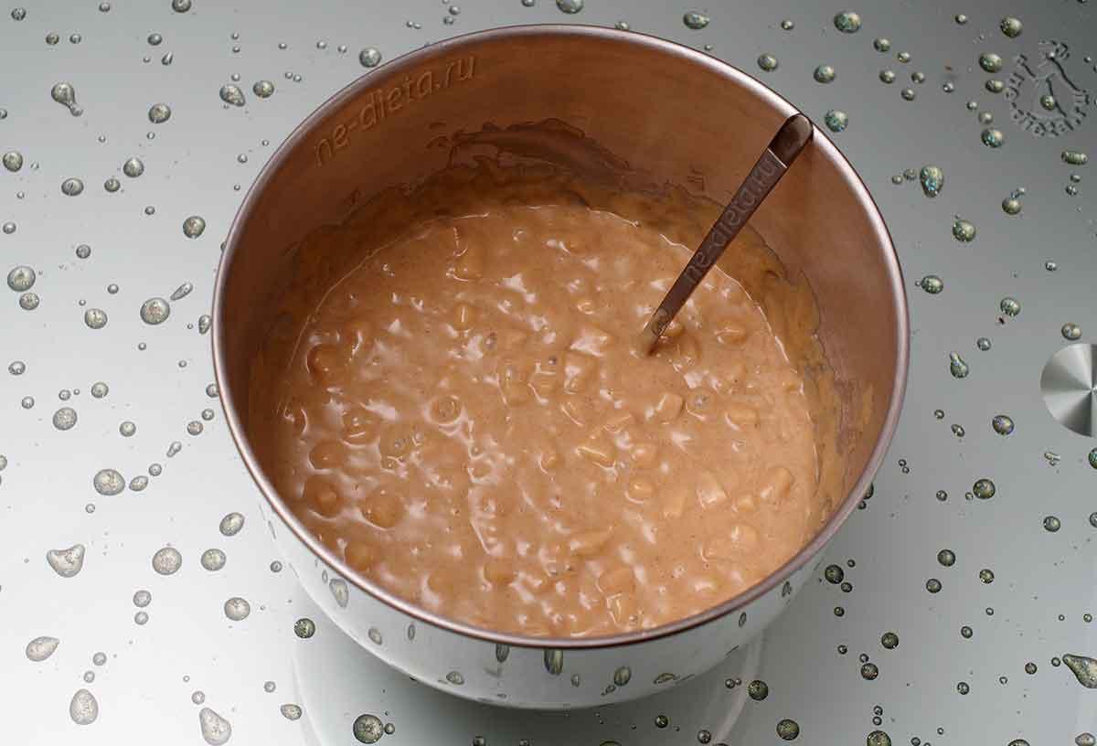 В тесто положить груши
