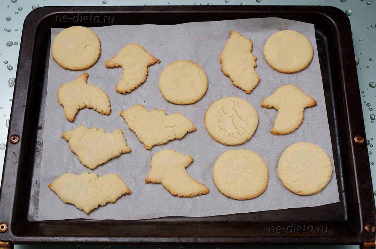 Песочное печенье на Хэллоуин