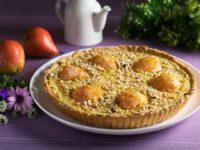 Пирог с грушами и маскарпоне