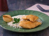 Куриное филе в луково-апельсиновом соусе