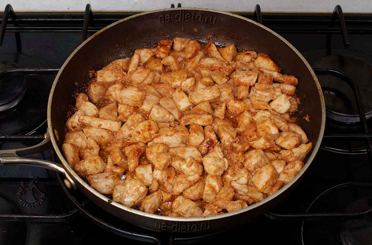 Куриная грудка по корейски