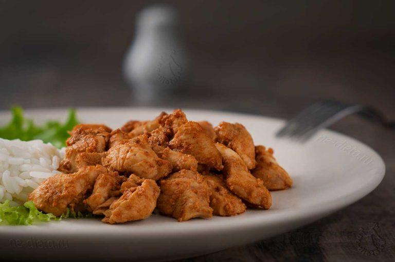 Куриное филе по-корейски