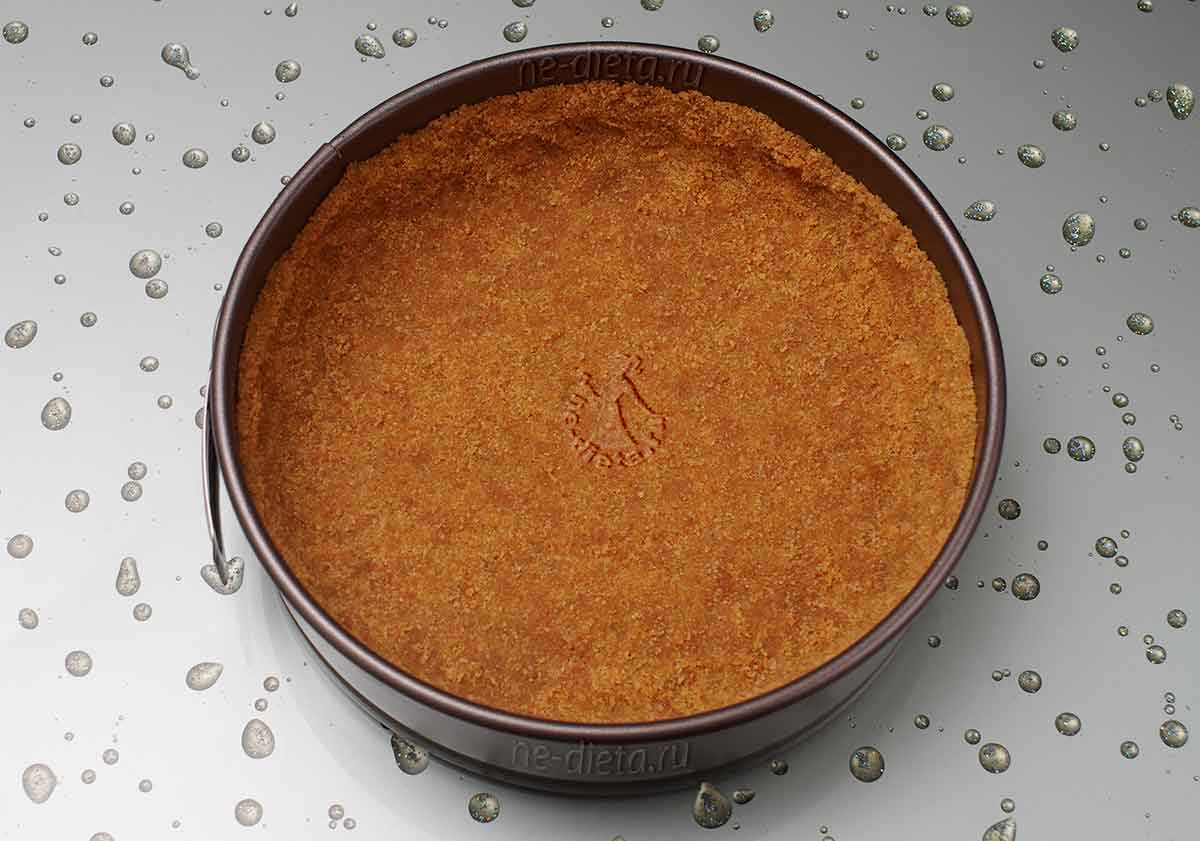Основа из печенья для тарта