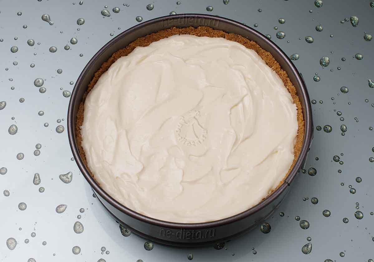 Сливочный тарт запечь в духовке
