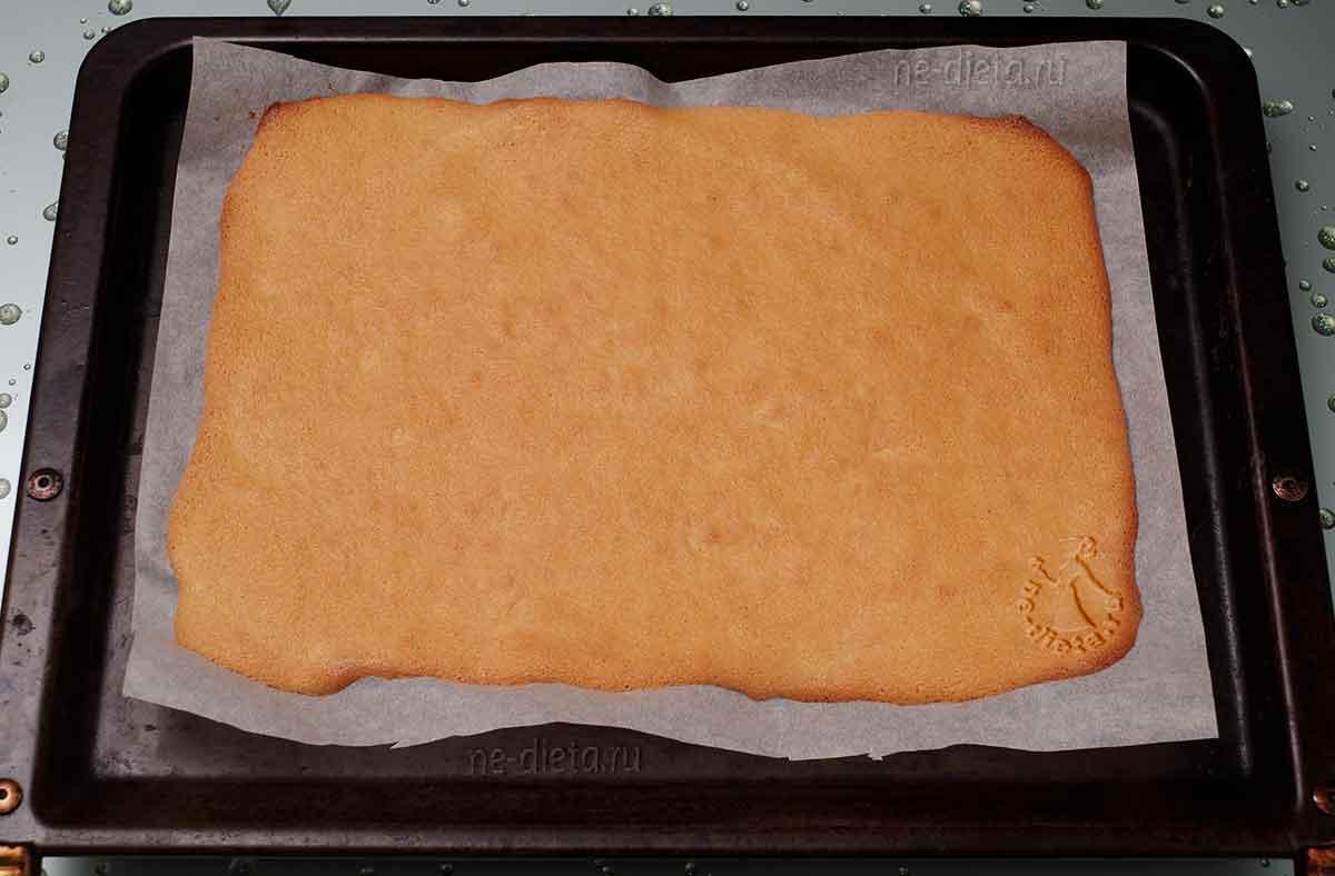 Бисквит для пирожных