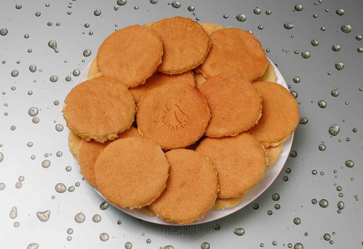 Круглые основы для пирожных