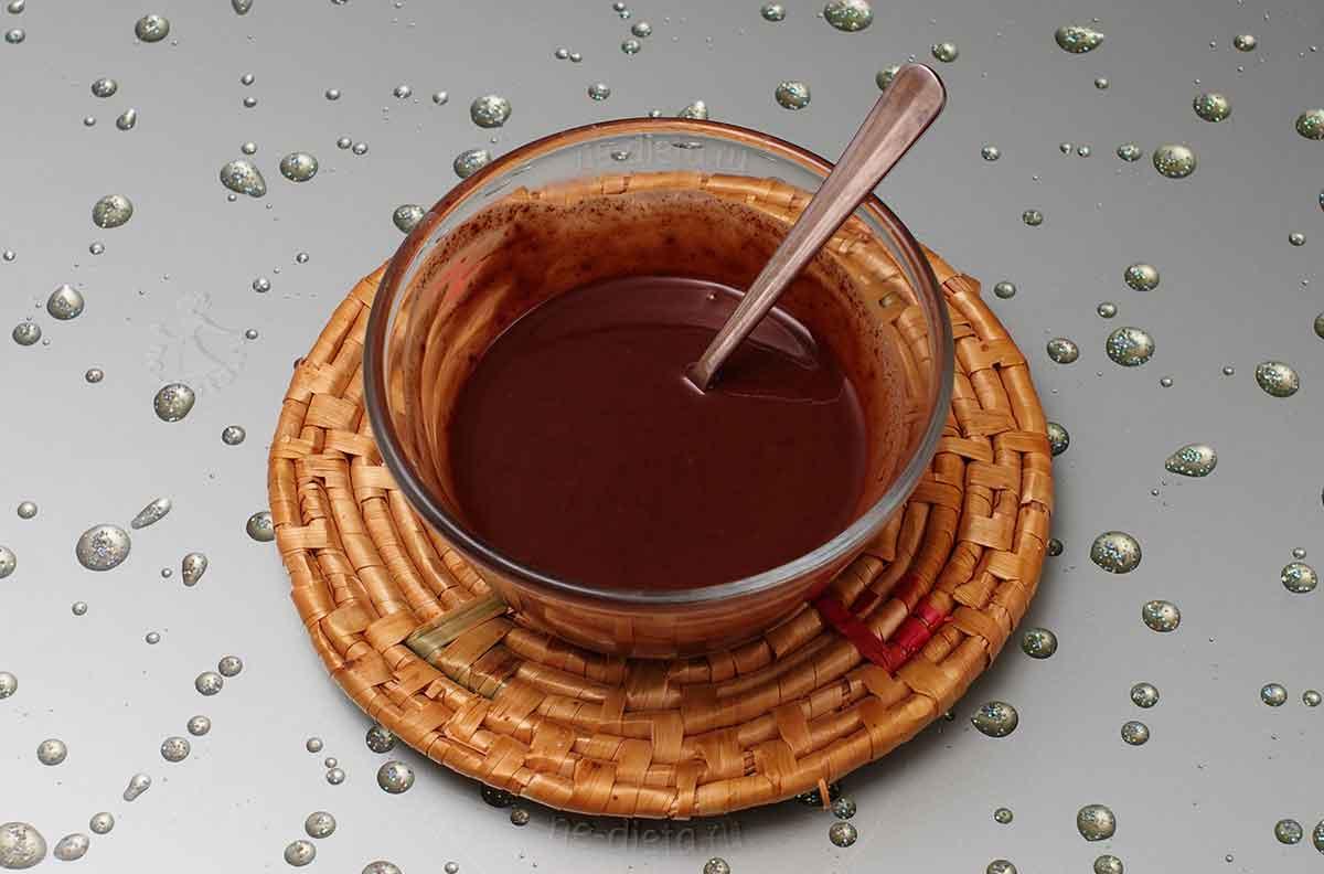 Шоколадный соус для чуррос