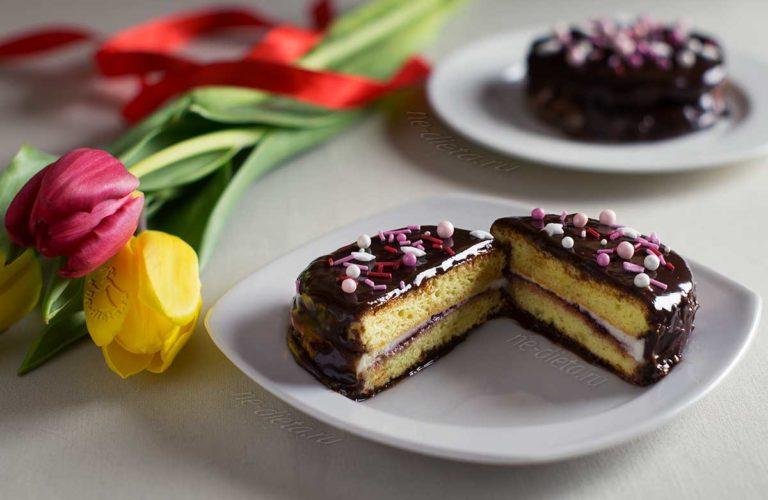 Пирожные «Чокопай»