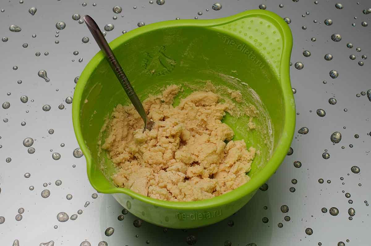 Песочное тесто для корзиночек