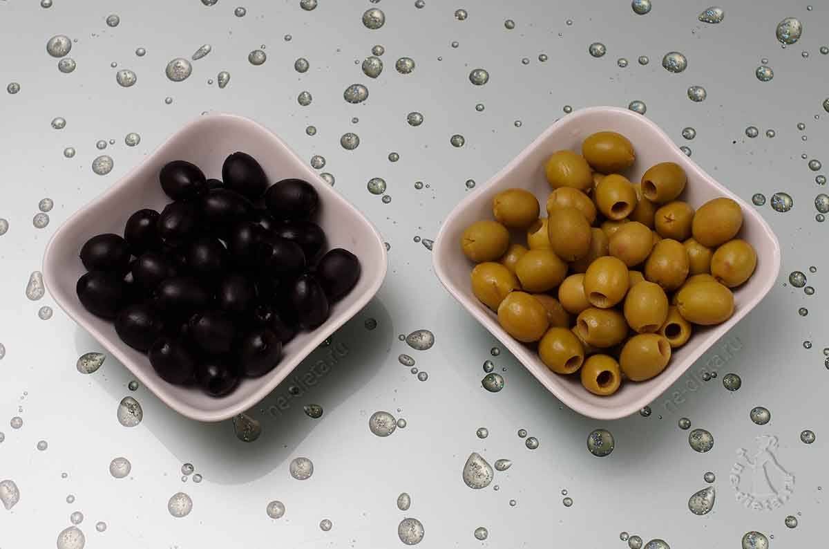 Оливки и маслины для сырных шариков