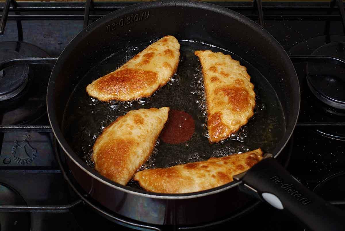 Пирожки с сыром во фритюре