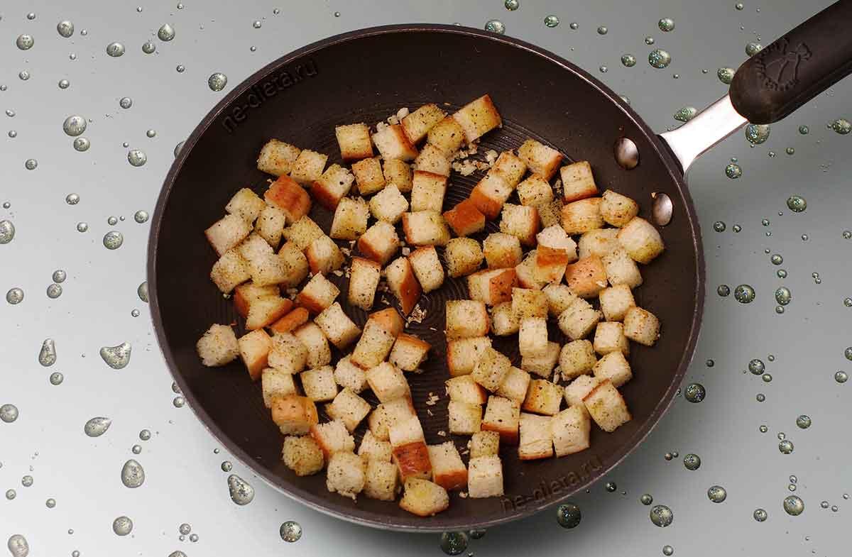 Сухарики для салата